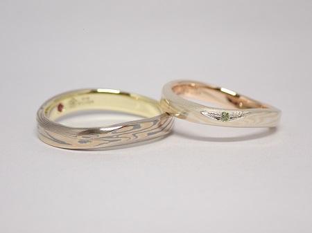 21080701木目金の婚約指輪・結婚指輪R_004-2.jpg