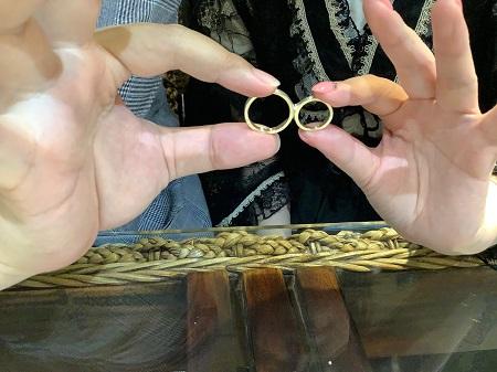 21090601木目金の婚約指輪結婚指輪_K001.JPG