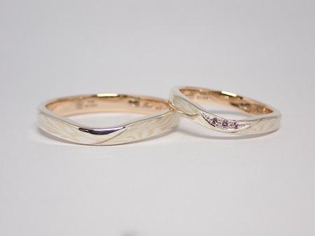 21090601木目金の婚約指輪結婚指輪_K004.JPG