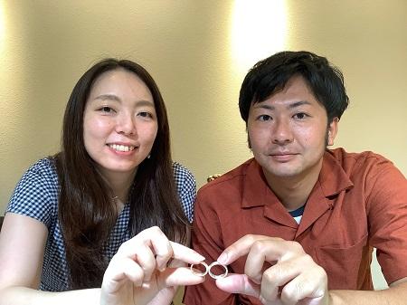21091101木目金の結婚指輪_G001.JPG