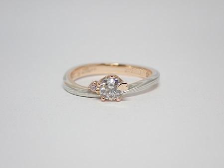 21091204木目金の婚約指輪・結婚指輪_J004①.JPG