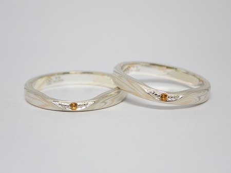 21101001木目金の結婚指輪_ LH004.JPG