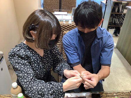 21101002木目金の婚約指輪・結婚指輪_D002.JPG
