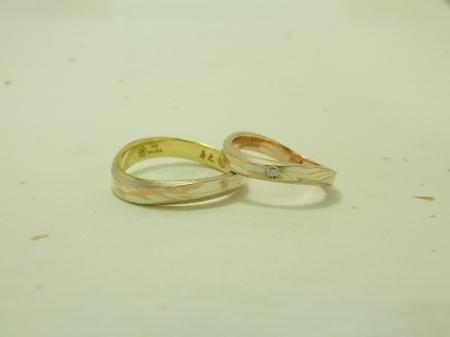 101225木目金の結婚指輪横浜元町店002.JPGのサムネール画像