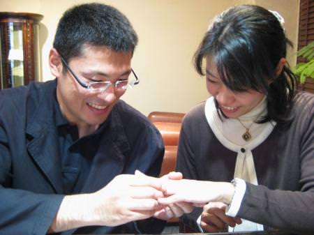 101227木目金の結婚指輪横浜元町店001.JPG