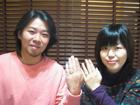 12月19日 木目金の結婚指輪_横浜元町店001.jpg