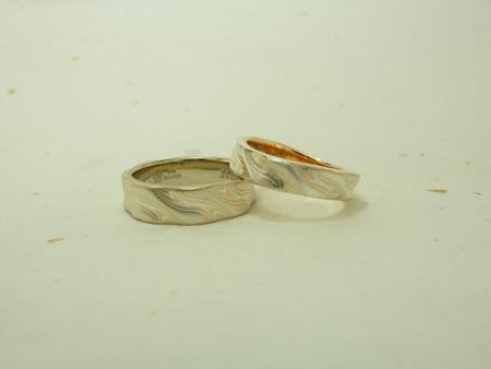 12月25日 木目金の結婚指輪_横浜元町店002 Y・O様.jpg