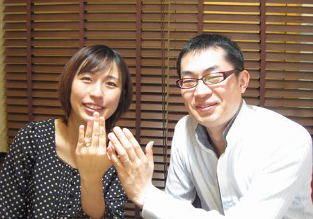 1月10日 木目金の結婚指輪 横浜元町店_001.jpg