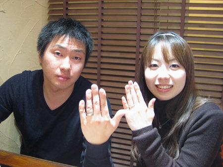 1月16日 木目金の結婚指輪_横浜元町店001[2].jpg