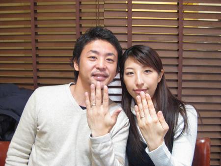 1月23日 木目金の結婚指輪_横浜元町店001 B18Y.jpg