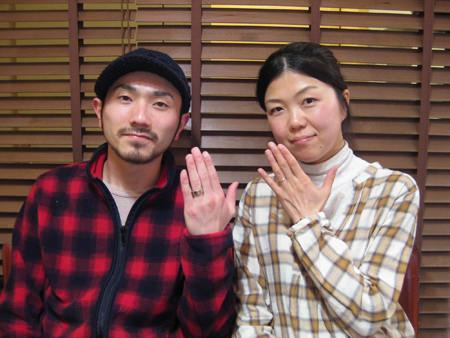 1月23日 木目金の結婚指輪_横浜元町店001 J04Y.jpg