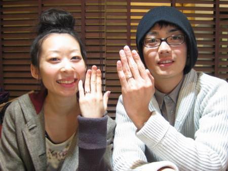110122木目金の結婚指輪_横浜元町店001.JPG