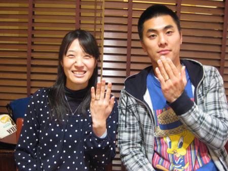 110226木目金の結婚指輪横浜元町店001.JPG