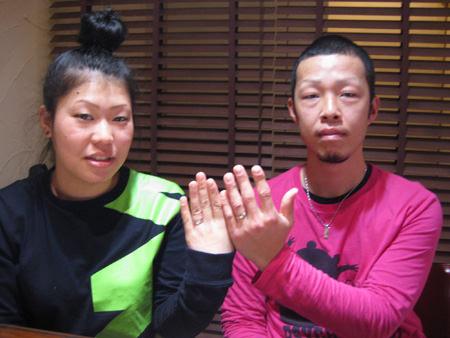 2月20日 木目金の結婚指輪_横浜元町店001 K16N.jpg