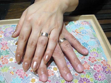 2月26日 木目金の結婚指輪_横浜元町店001 A02Y.jpg