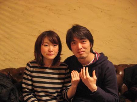 110323木目金の結婚指輪表参道本店001.jpg