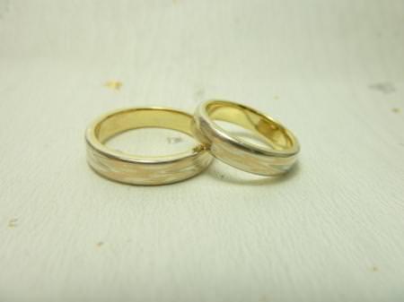 110323木目金の結婚指輪表参道本店002.jpg