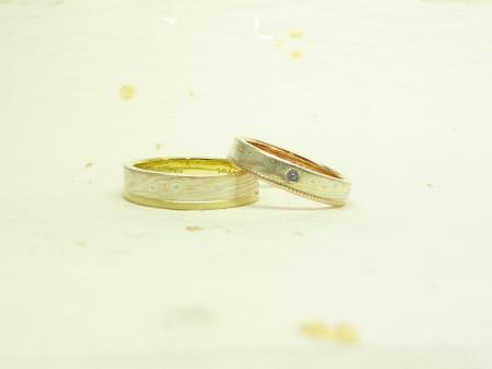110326木目金の結婚指輪表参道本店003.JPG