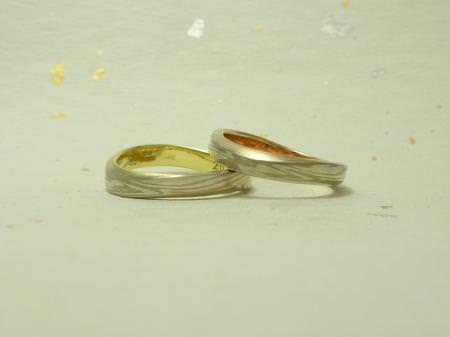 11032805木目金の結婚指輪表参道本店002.jpg