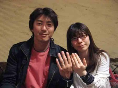 11040902木目金の結婚指輪 表参道本店001.jpg