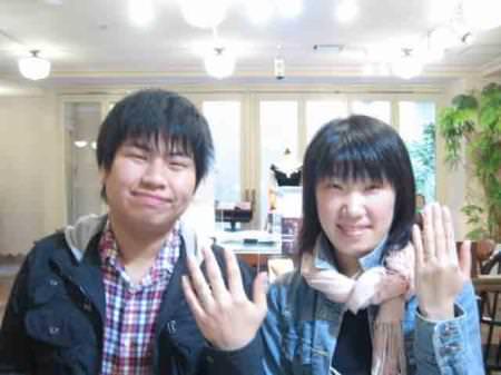 110410木目金の結婚指輪 表参道本店001.jpg