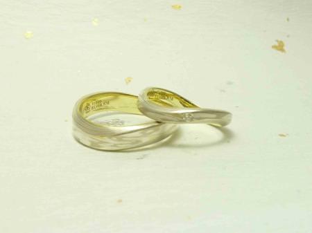 11041002木目金の結婚指輪 表参道本店002.jpg