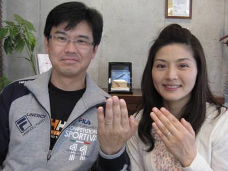 110417木目金の結婚指輪横浜元町店001.JPG