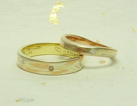 110417木目金の結婚指輪_神戸店002.jpg