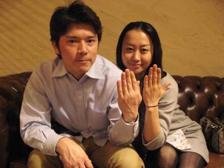 11041901木目金の結婚指輪 表参道本店001.jpg