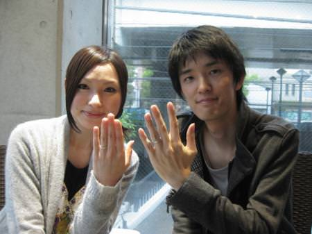110423木目金の結婚指輪 横浜元町店001.JPG
