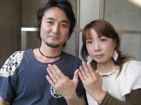 110425木目金の結婚指輪横浜元町店001.JPG