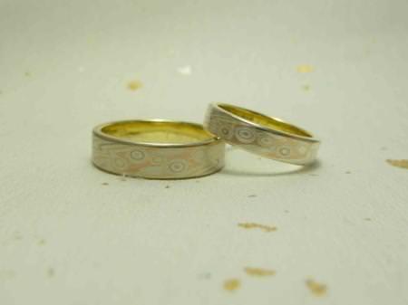 11042501木目金の結婚指輪 表参道本店002.jpg