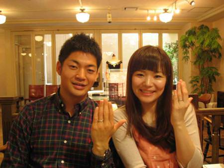 110430木目金の結婚指輪 表参道本店001.jpg