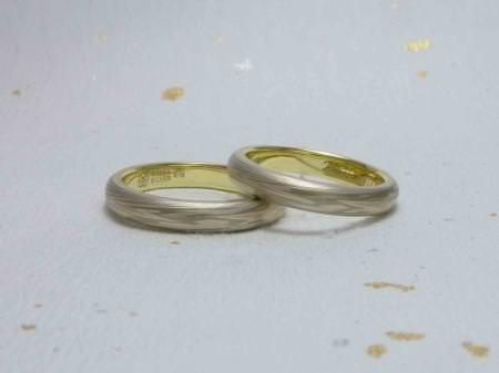 110430木目金の結婚指輪 表参道本店002.jpg