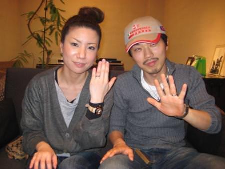 110423木目金の結婚指輪大阪本店001