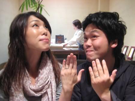 110529木目金の結婚指輪_大阪本店001③のサムネール画像