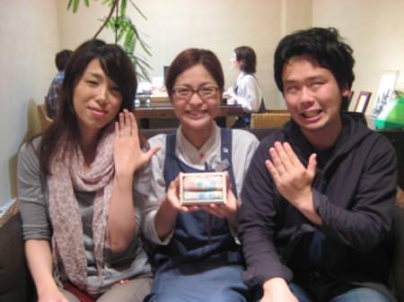 110529木目金の結婚指輪_大阪本店002③
