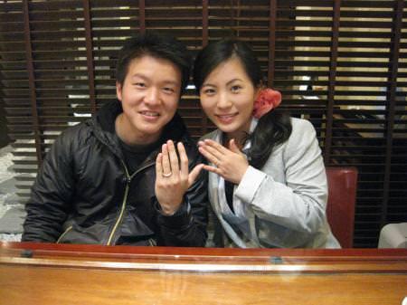 110429_木目金の結婚指輪_銀座店001.JPG