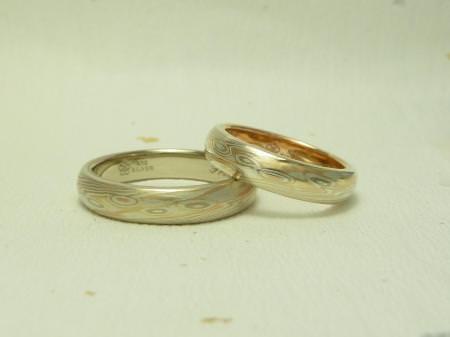 11061801木目金の結婚指輪 表参道本店002.jpg