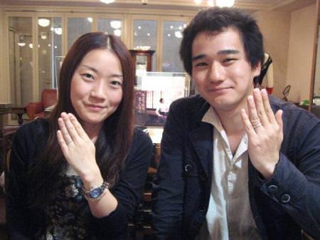 11061802木目金の結婚指輪 表参道本店001.jpg