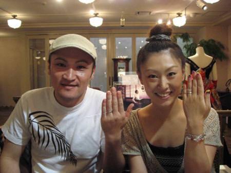 110623木目金の結婚指輪_表参道本店001.jpg