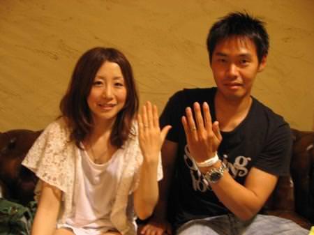 11062401木目金の結婚指輪 表参道本店001.jpg