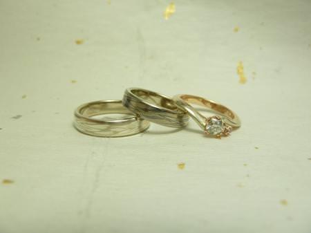 110625木目金の結婚指輪 横浜元町002.JPG