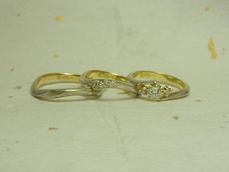 11062501 木目金の結婚指輪_横浜元町店002.jpg