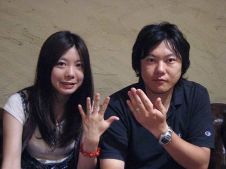 11062503木目金の結婚指輪 表参道本店001.jpg