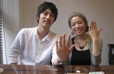 110626木目金の結婚指輪_神戸店001.jpg