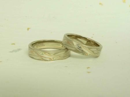 110630木目金の結婚指輪 表参道本店002b.jpg