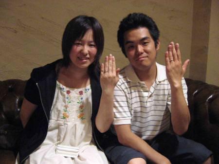 11063001木目金の結婚指輪 表参道本店001.jpg