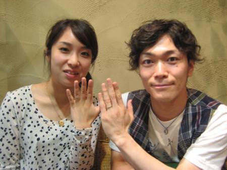 110619木目金の結婚指輪_大阪本店001⑦