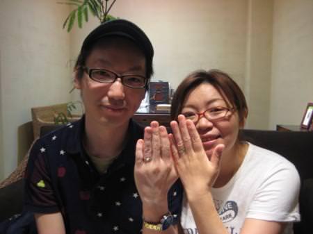 110629木目金の結婚指輪_大阪本店001のサムネール画像